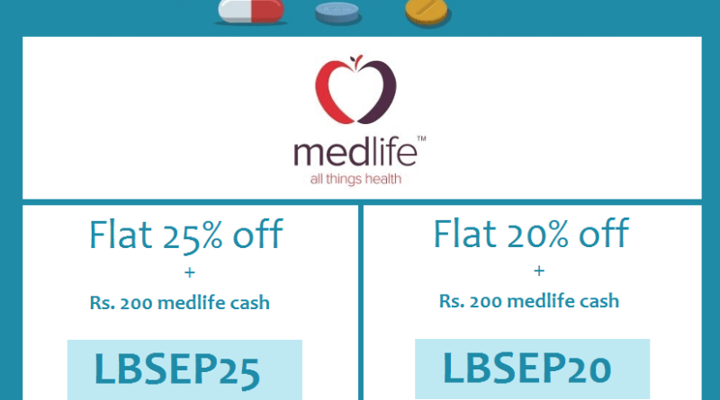 Discount on mediicnes