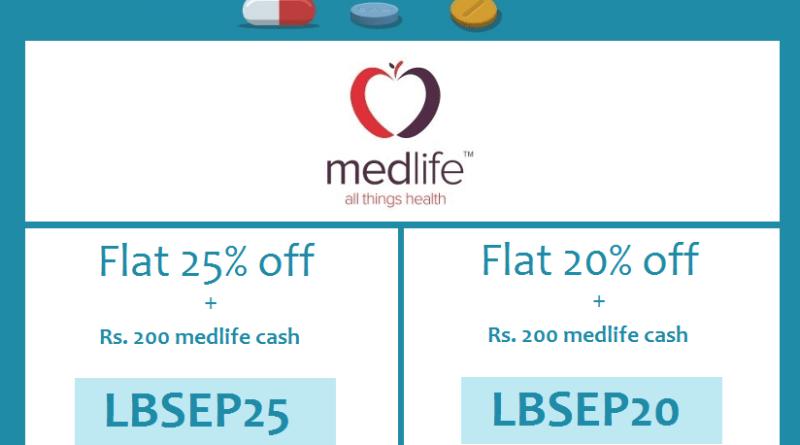 Discount on mediicnes